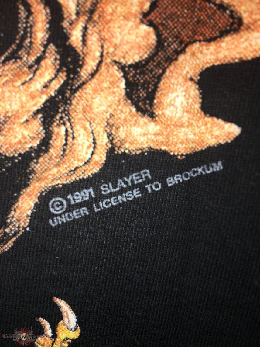 Slayer '91 Tour Shirt