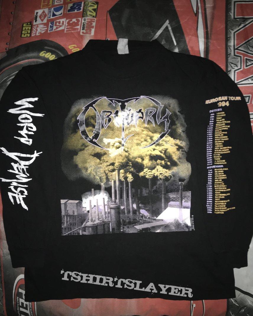 Obituary 'World Demise' L/S Shirt