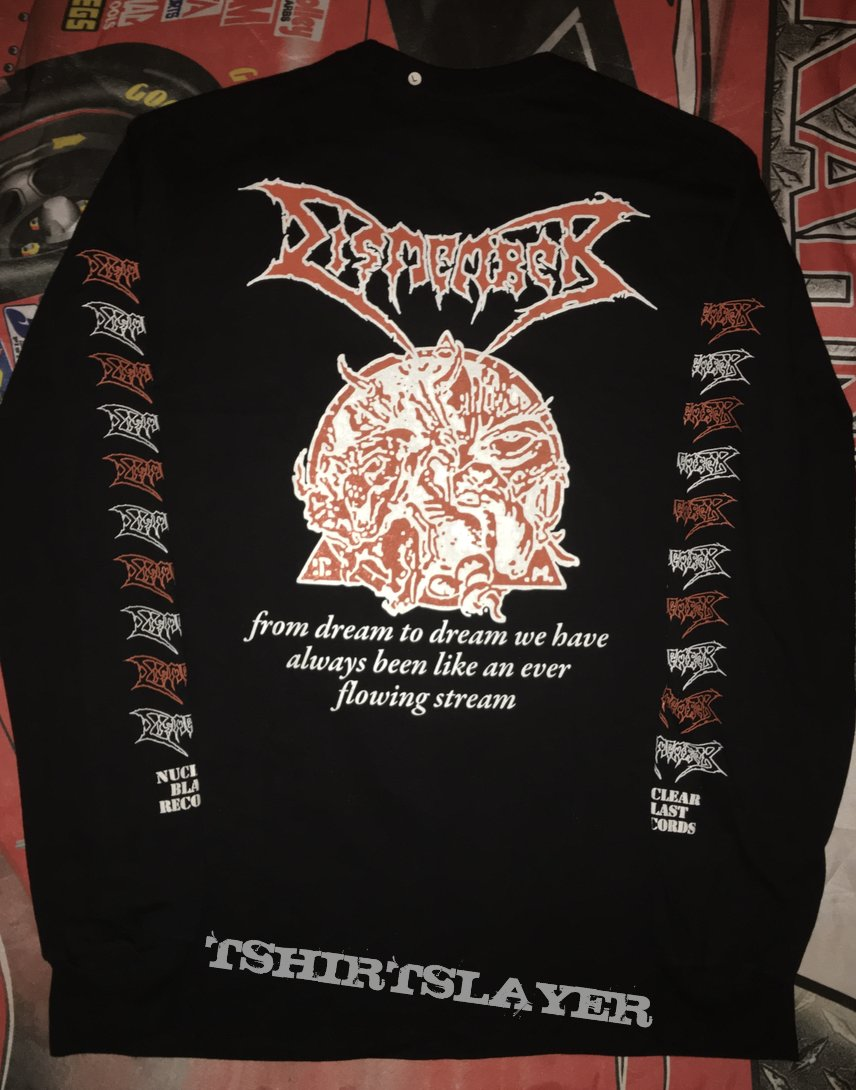 Dismember 'Like An Ever Flowing Stream' L/S