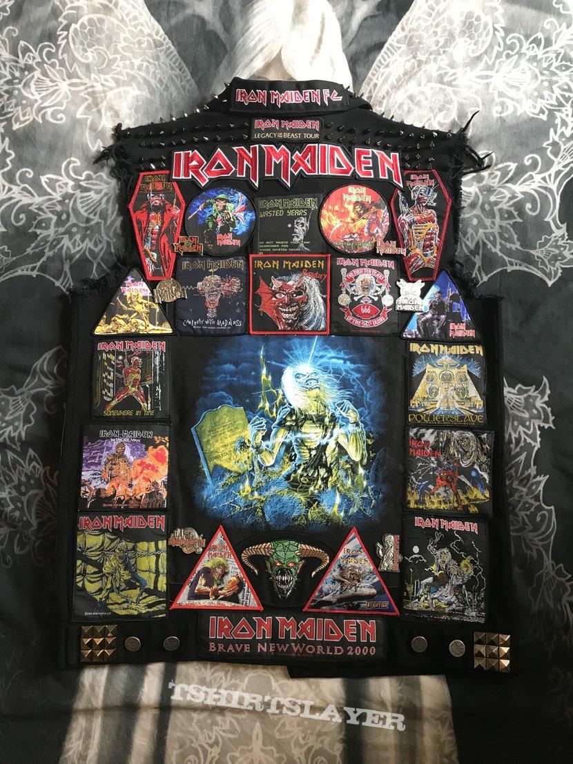 My Iron Maiden battle jacket