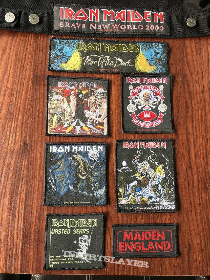 Iron Maiden vintage patches