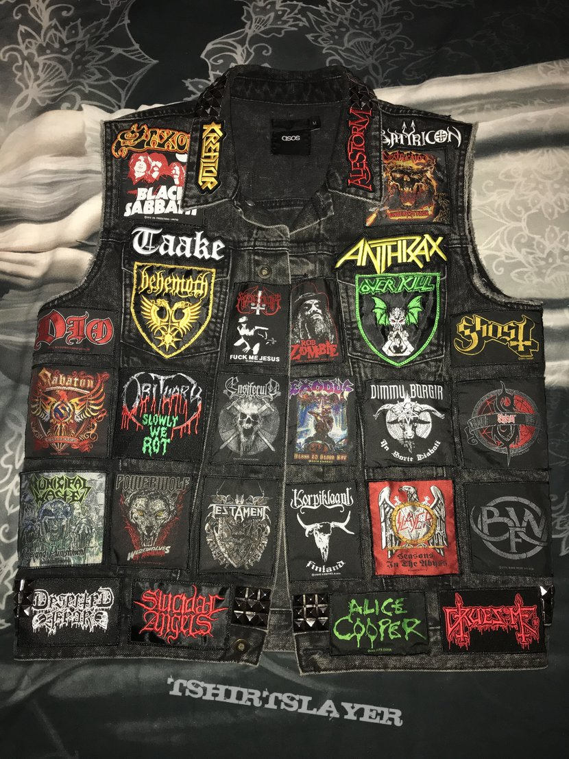 One of my battle jackets (work in progress)