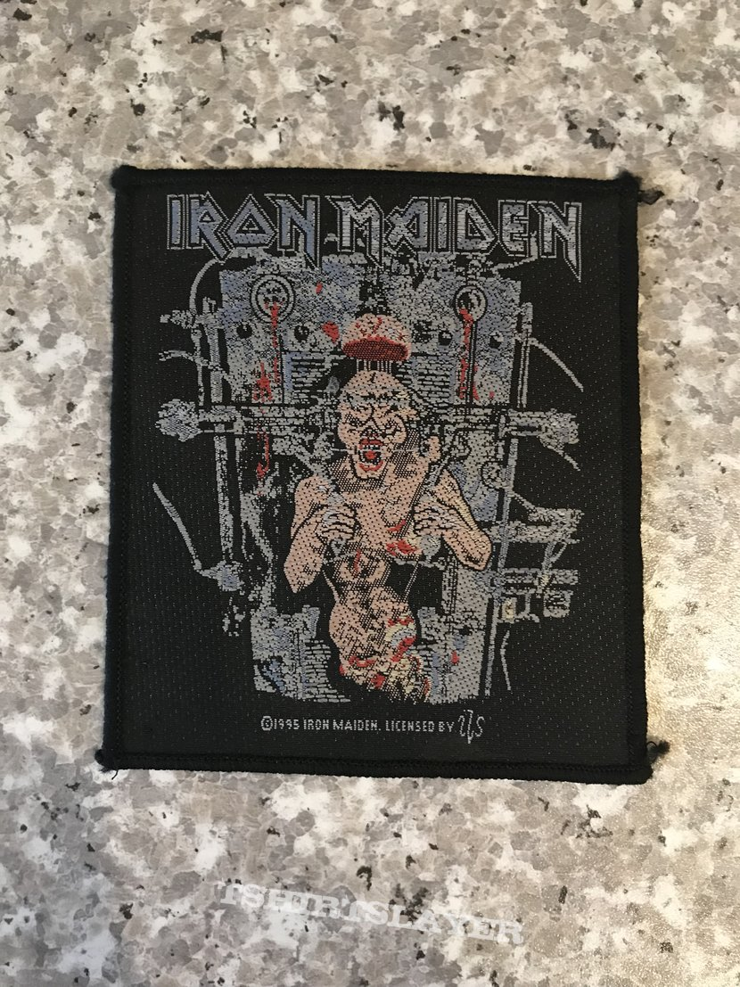 Iron Maiden - The X Factor patch