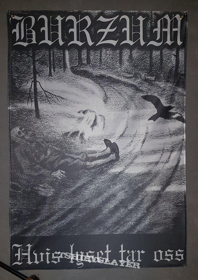 """""""Burzum - Hvis lyset tar oss"""" poster flag"""