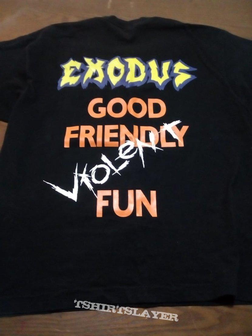 Exodus   Good Friendly Violent Fun    T shirt