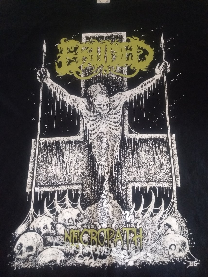 Eroded  Necropath T Shirt