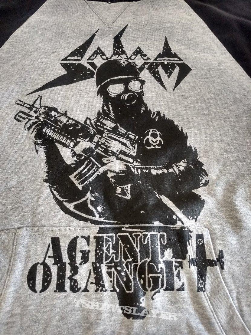 Sodom  Agent Orange Hooded Top