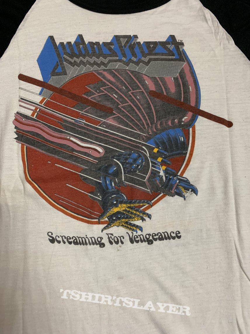 Judas Priest - Screaming for Vengeance - Vintage Jersey Shirt