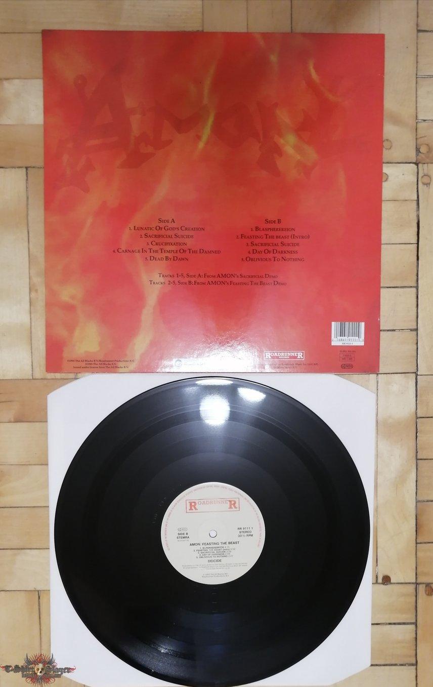 Deicide-Amon Feasting the Beast LP