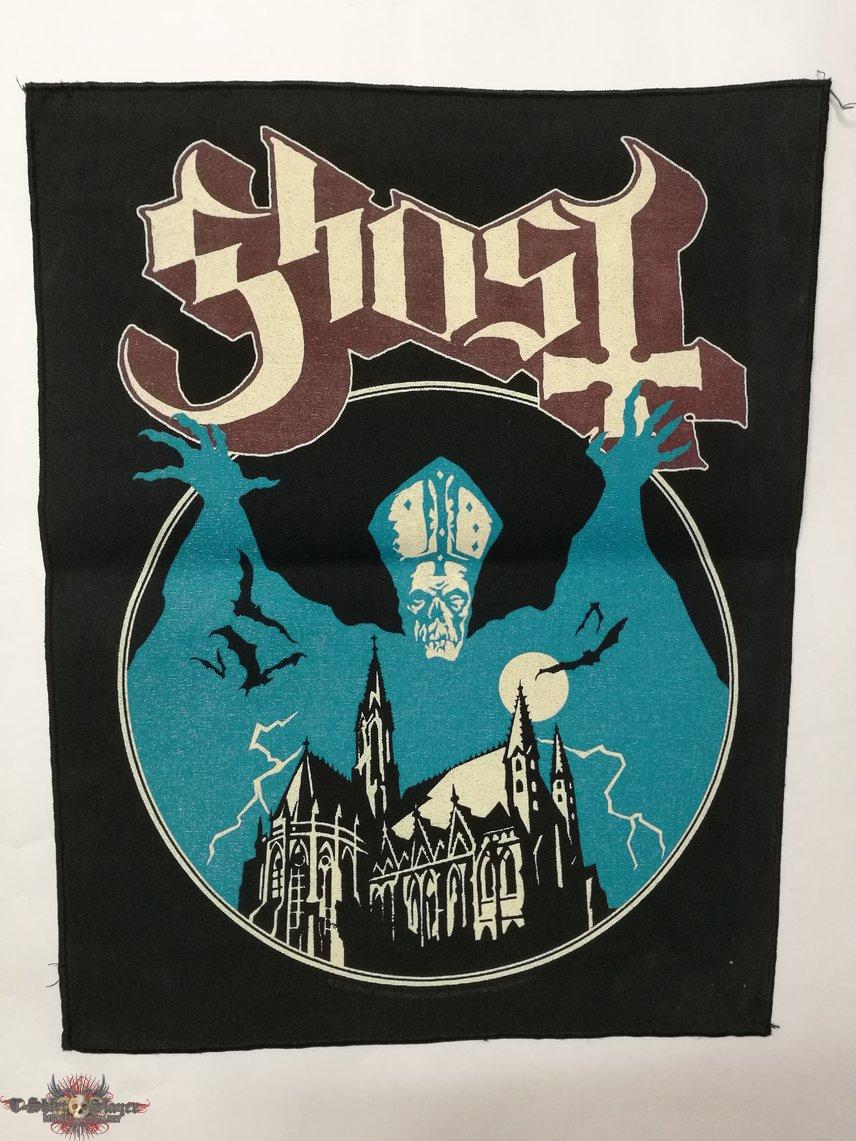 Ghost - Opvs Eponymovs, Backpatch