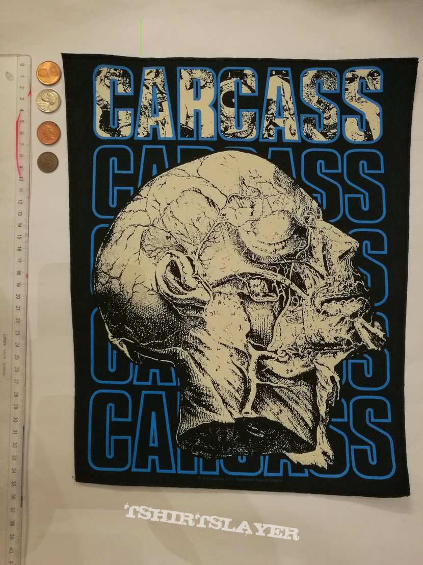 Carcass, Backpatch
