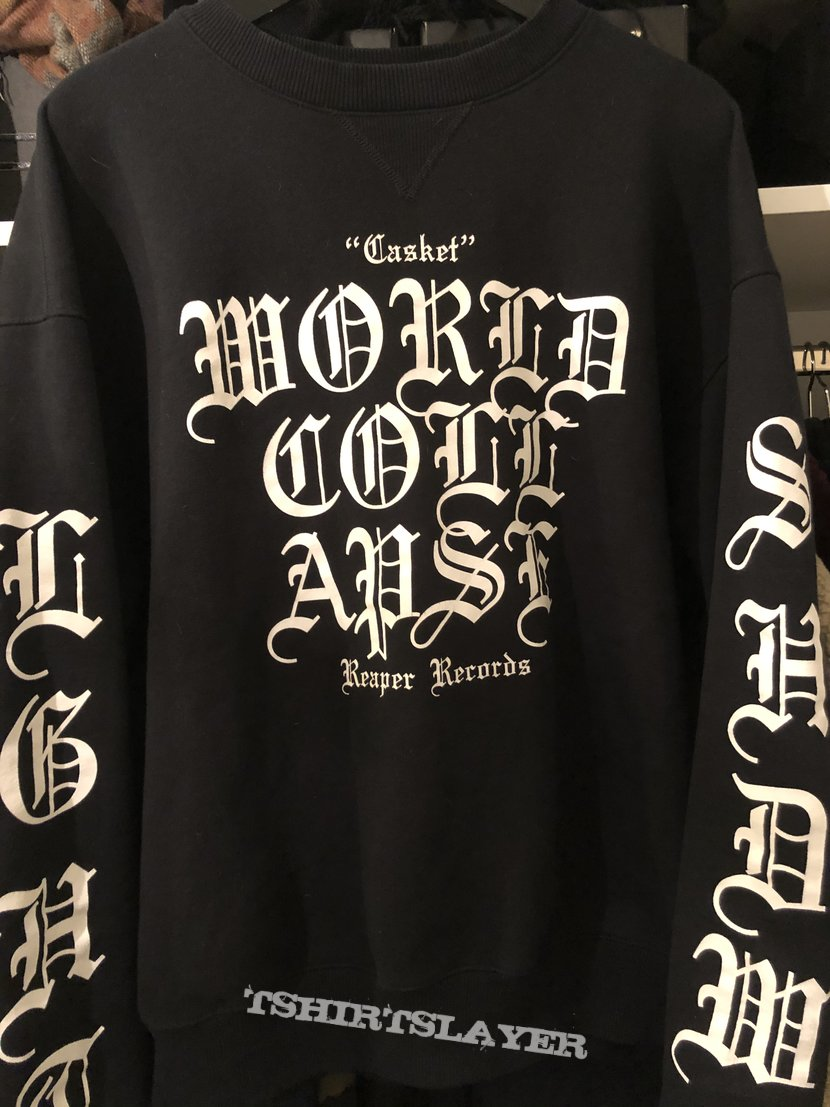 World Collapse Frost/Casket Champion crewneck