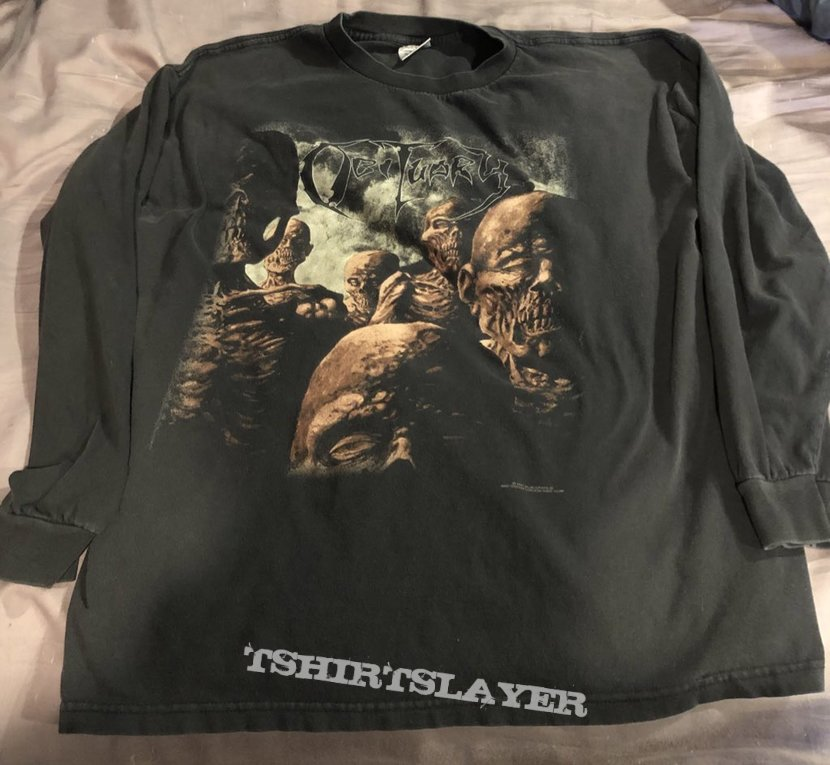 Obituary back from the dead LS blue grape 1997