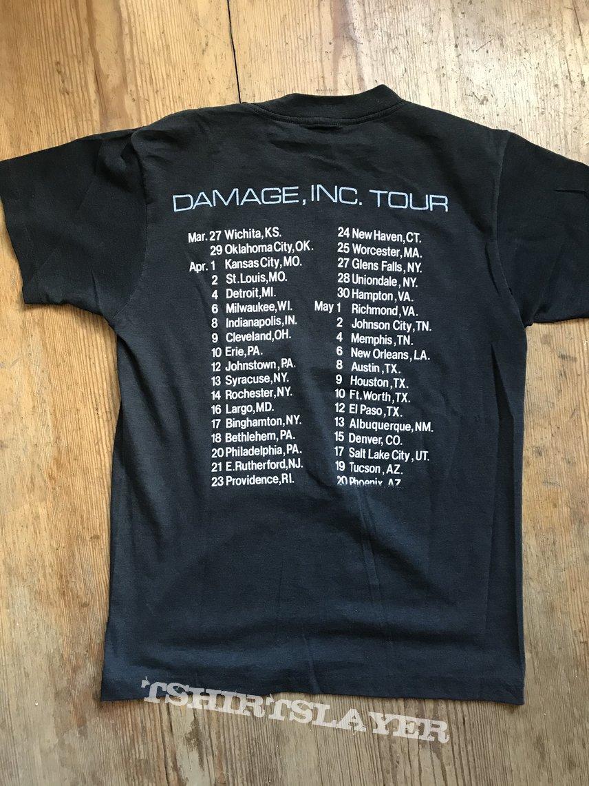 Metallica - Master Of Puppets - US Tour Shirt '86