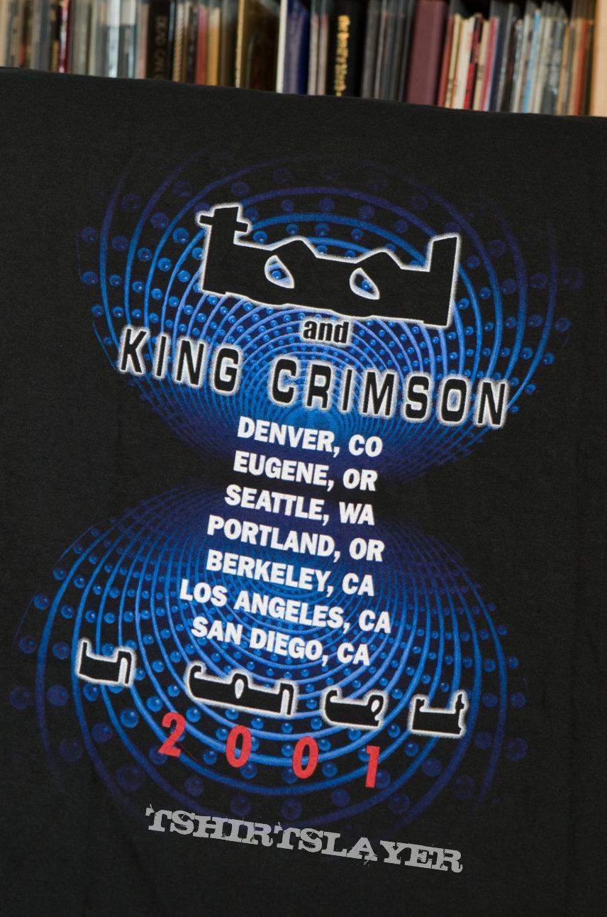 TOOL & King Crimson 2001 Tourshirt, XL