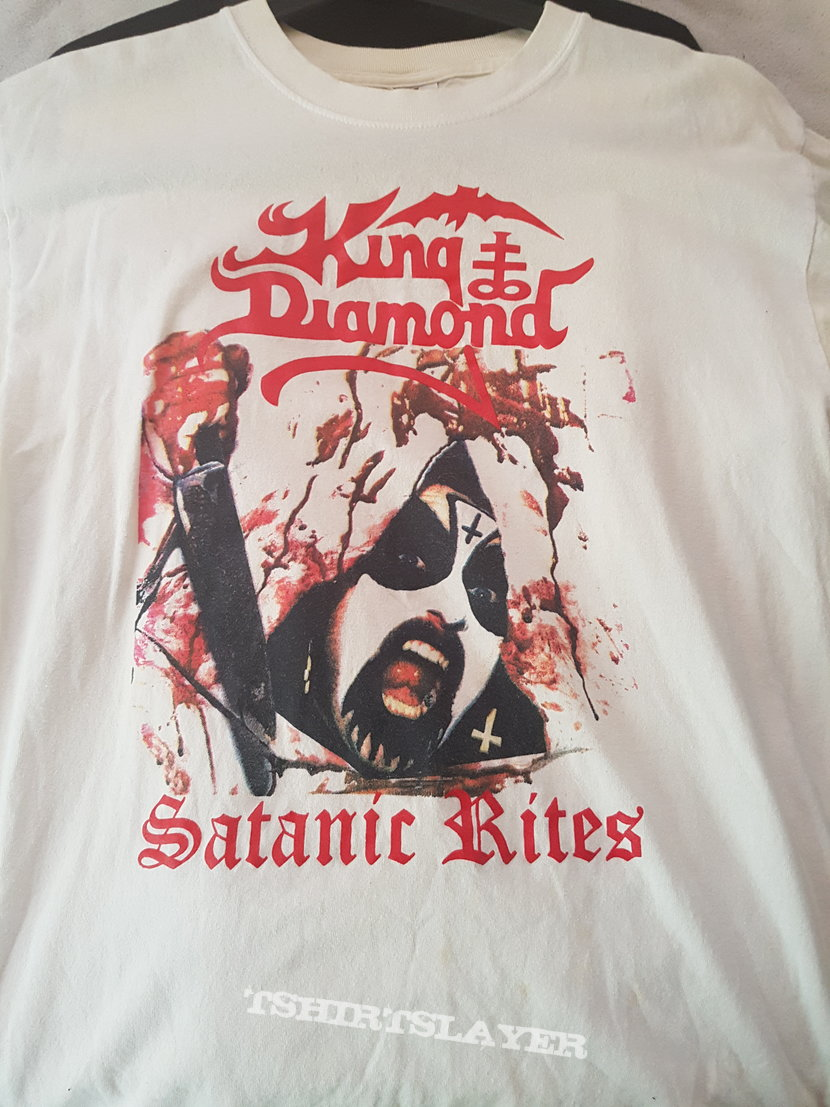 King Diamond - Satanic Rites, Vintage 80's