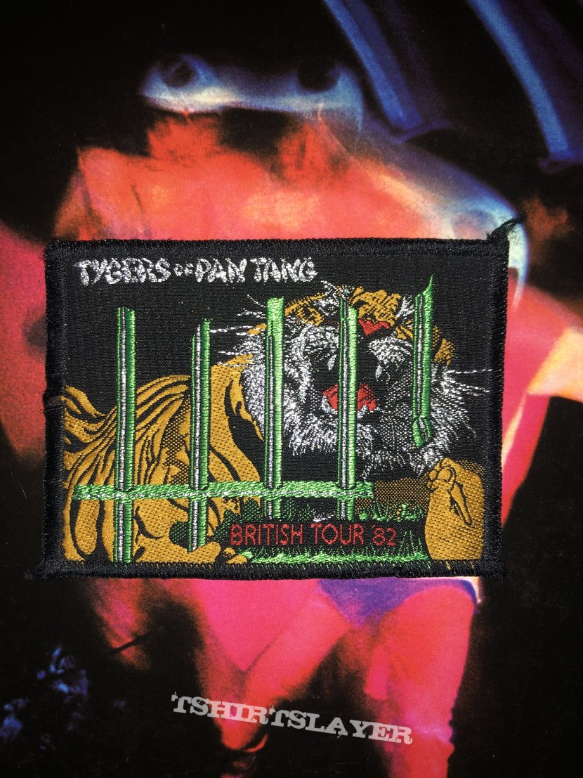 Tygers Of Pan Tang: British Tour '82 patch