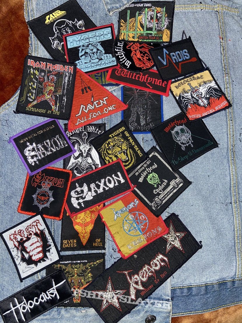 New wave of British heavy metal patches