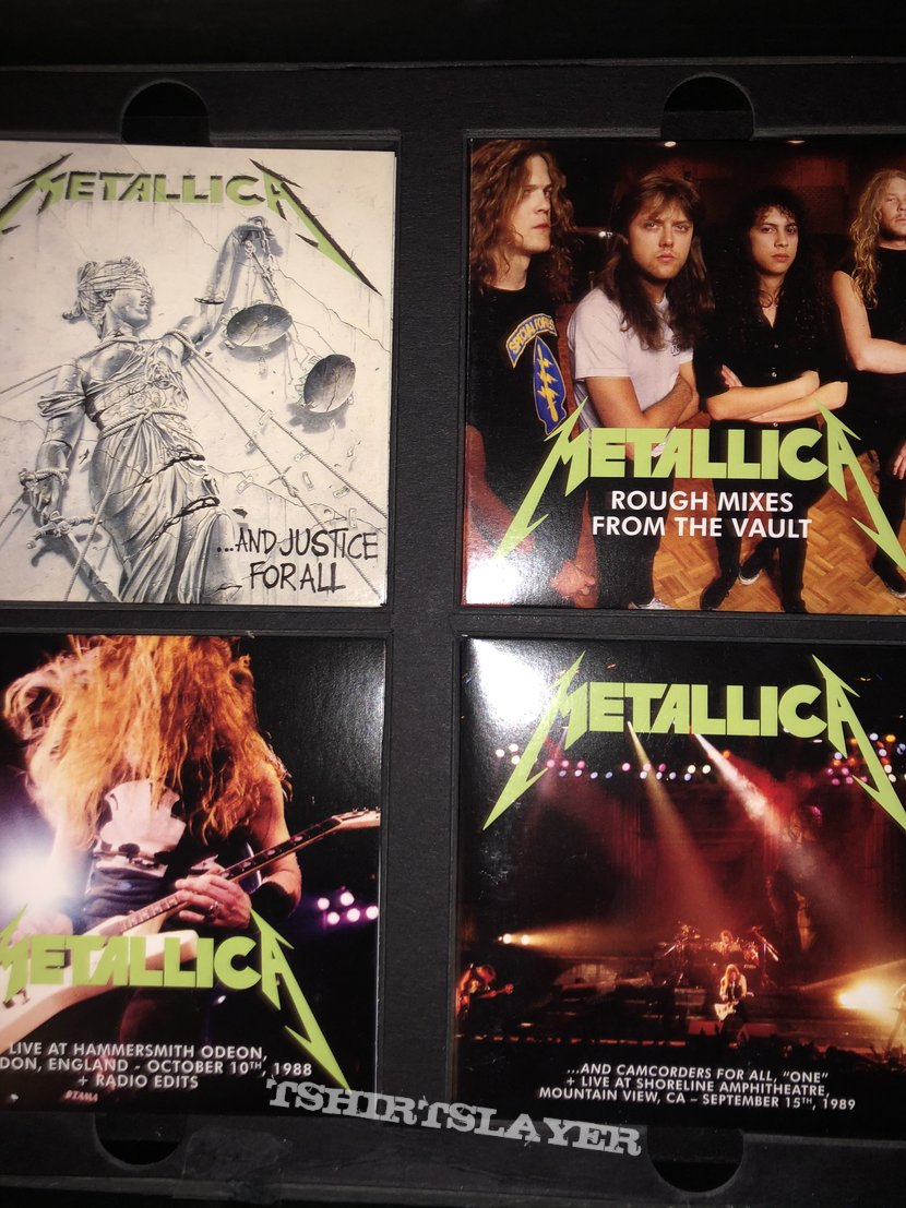 Metallica justice for all box set