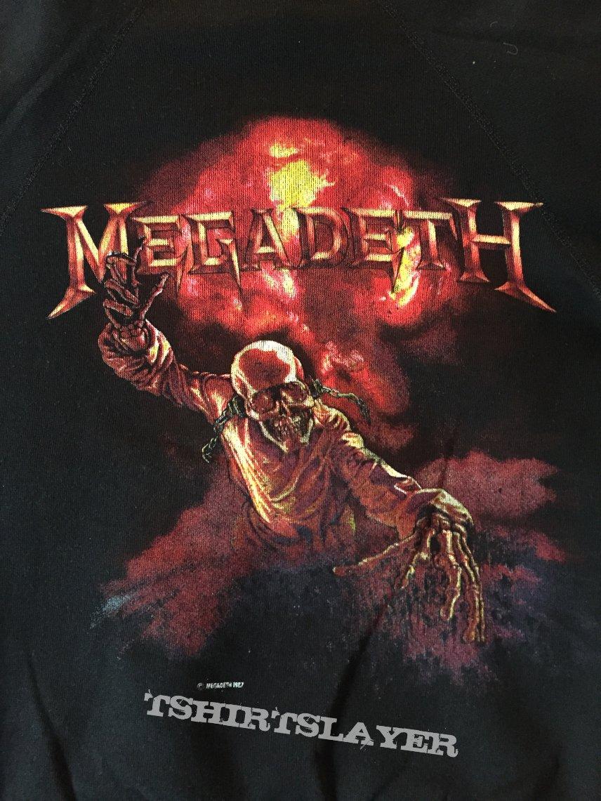 Megadeth 1987 sweatshirt