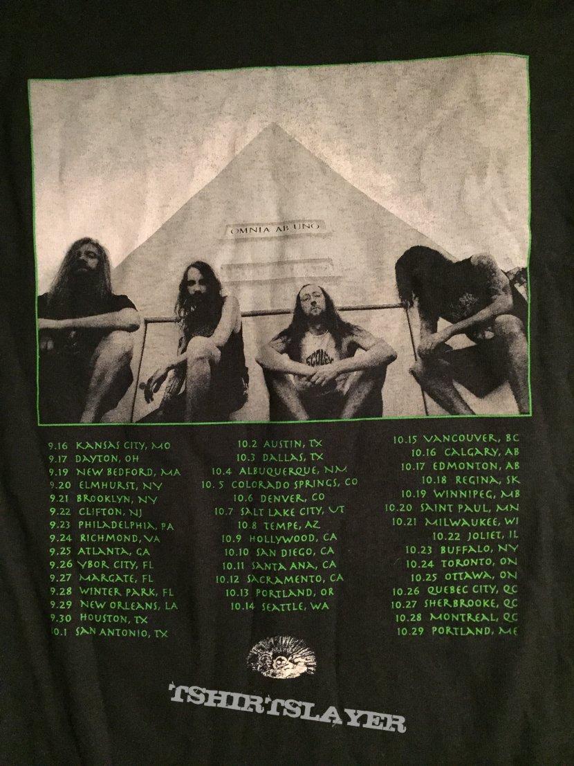 Blood Incantation 2019 tour shirt