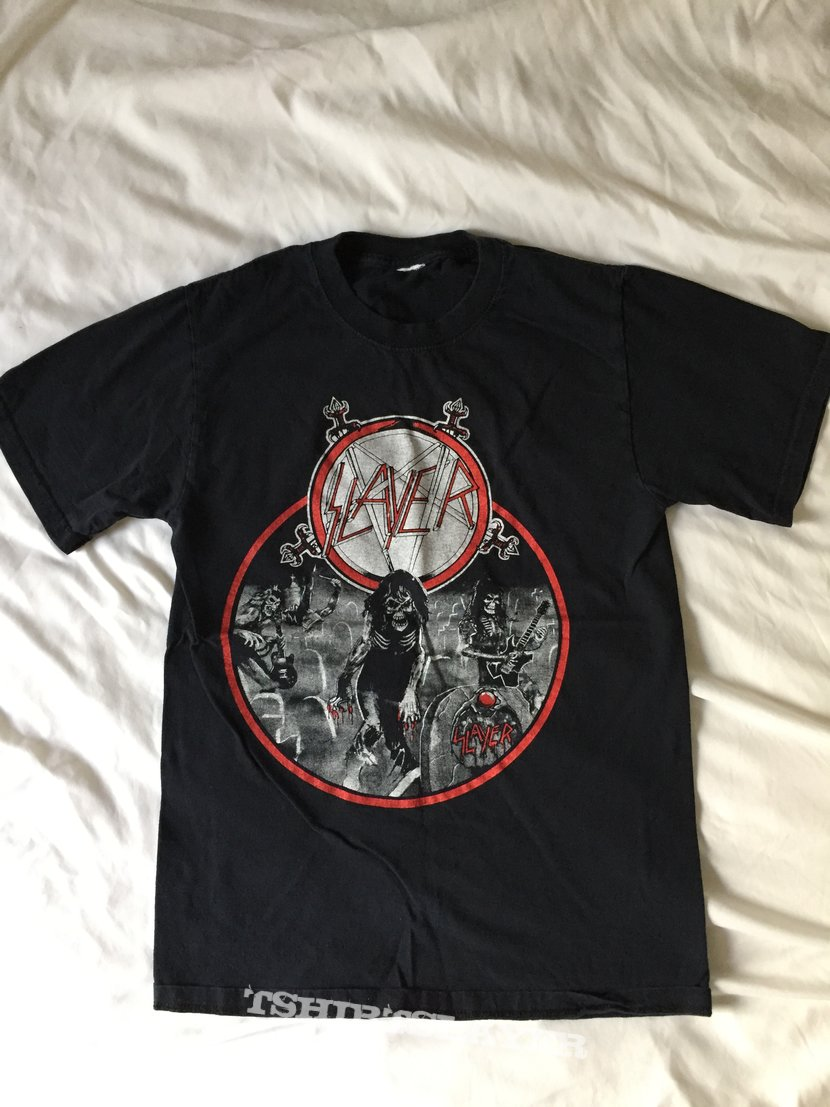 Slayer bootleg Live Undead/Reign in Blood shirt