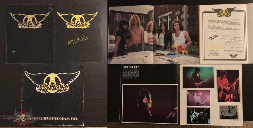 Aerosmith Tour Books 1970s