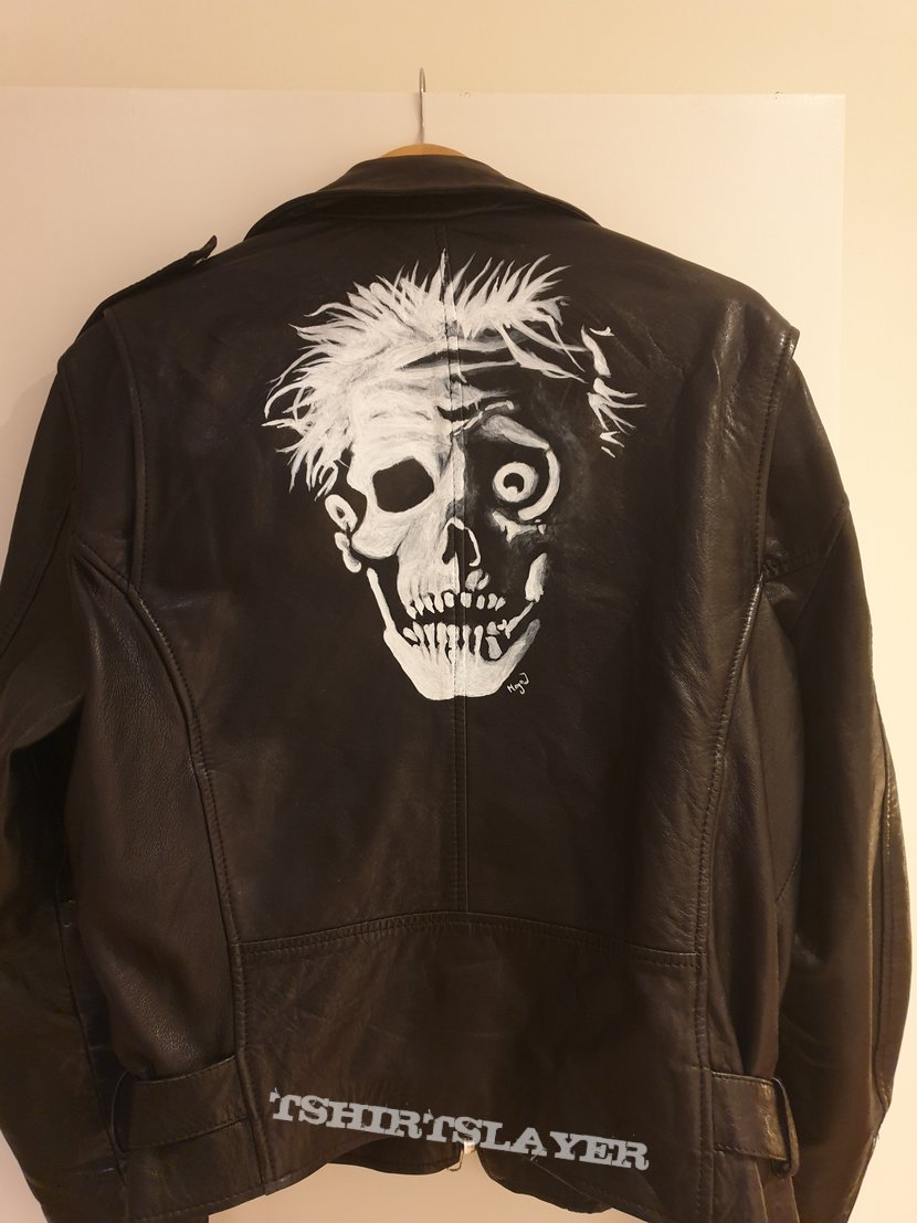 My Painted Leather Jacket
