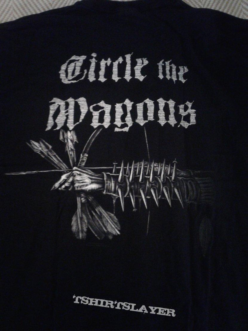 Darkthrone Cicle the Wagons Xl | TShirtSlayer TShirt and