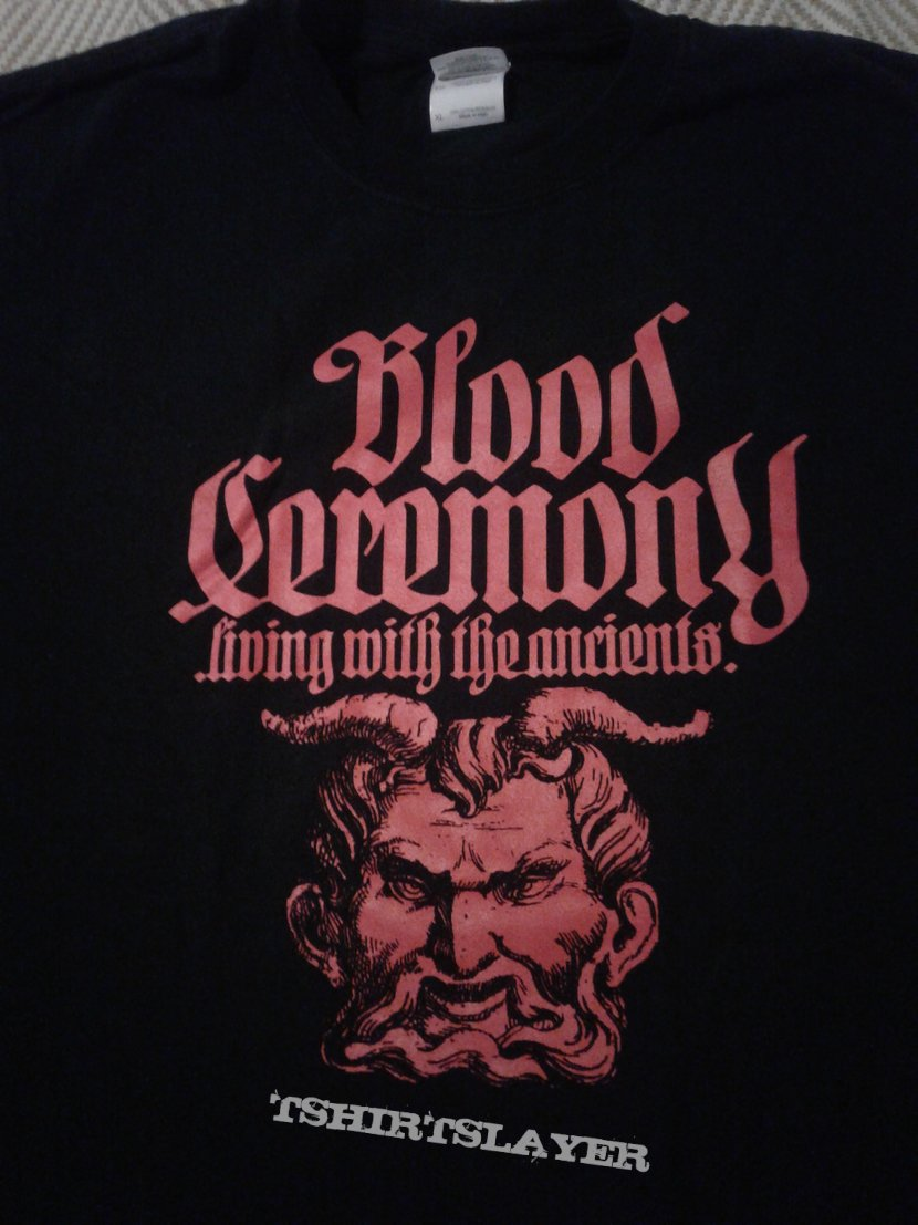 Blood Ceremony shirt XL
