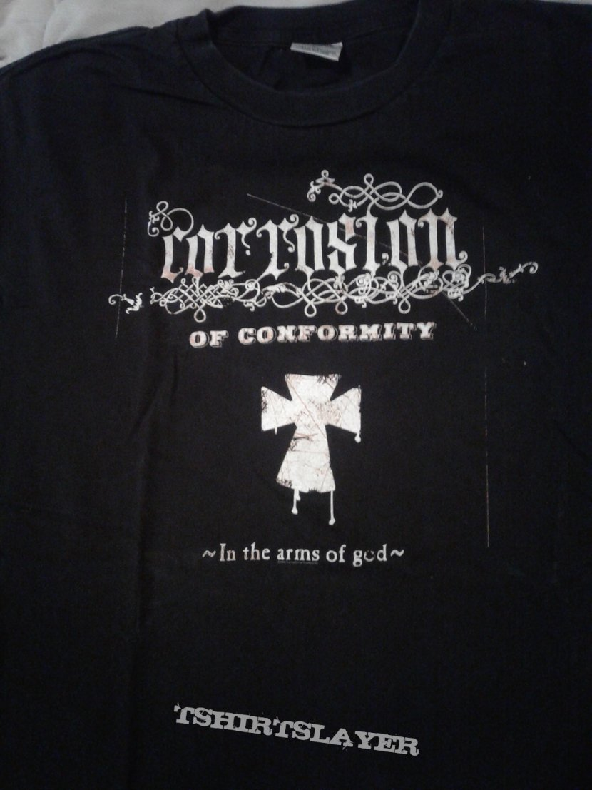 Corrosion Of Conformity In The Arm of God shirt