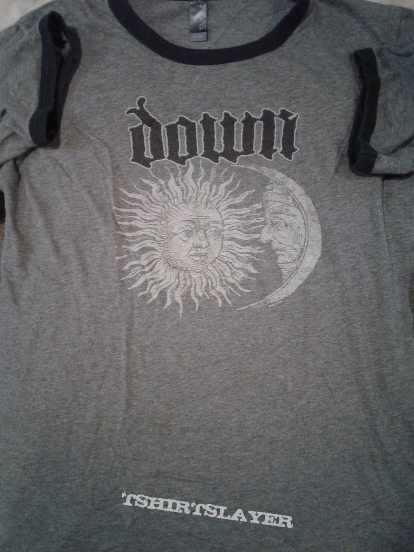 Down ringer shirt