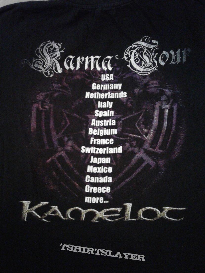 Kamelot Karma  tour shirt