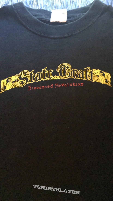 State Craft Bloodshed Revolution shirt
