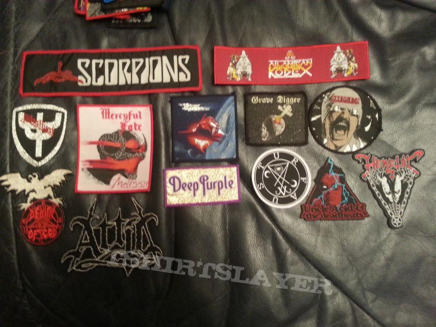 Some patches of my collection