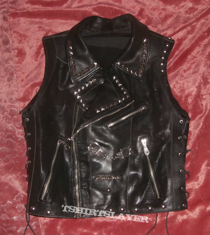 Rob Halford style leather vest