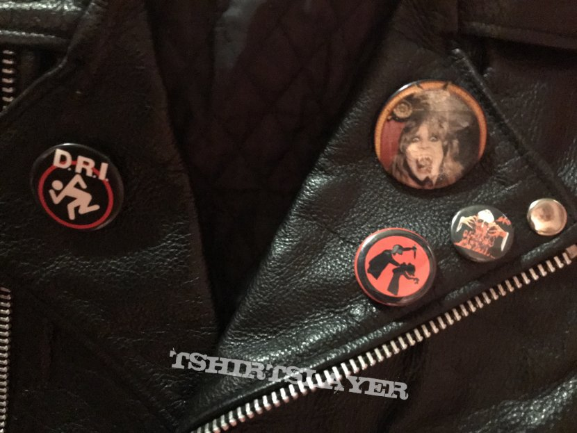 New leather jacket WIP