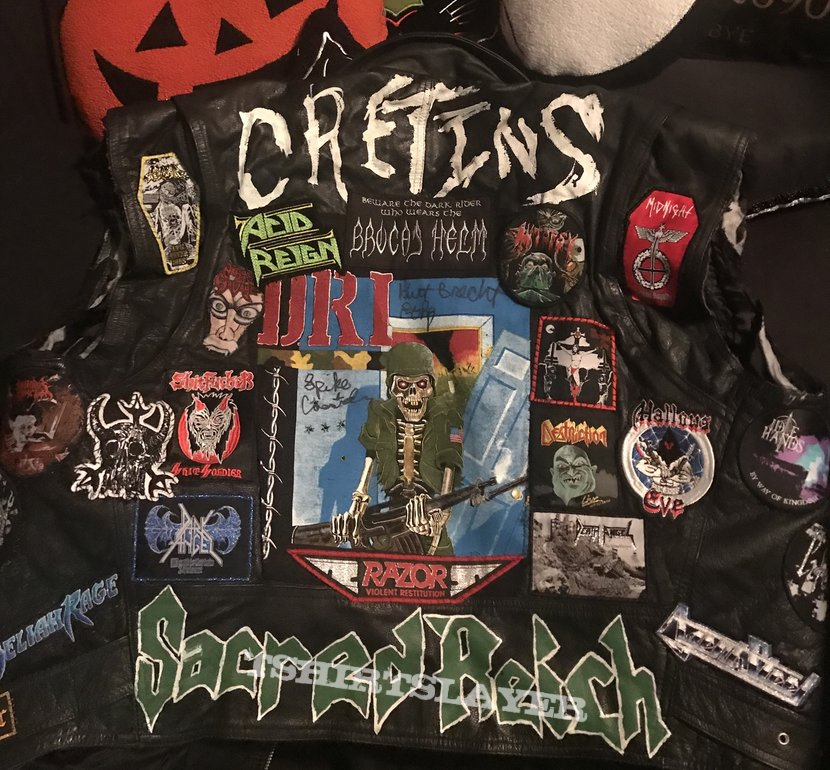 Leather vest update