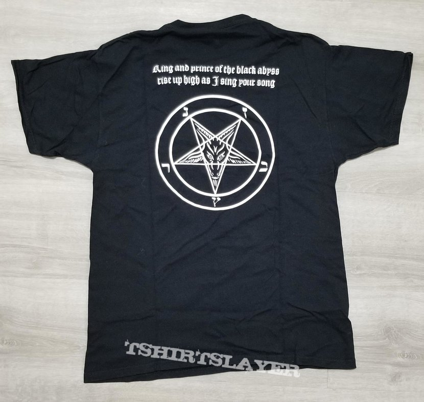 "Inquisition ""Ominous Doctrines of the Perpetual Mystical Macrocosm"" t-shirt"
