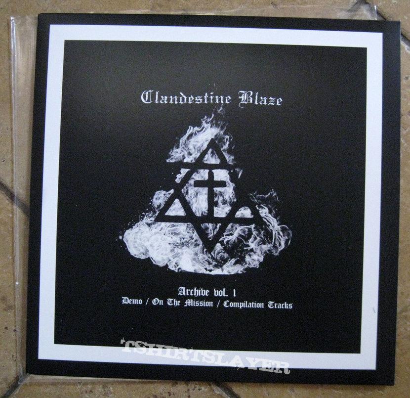 CLANDESTINE BLAZE – Archive Vol. 1 (Black Vinyl)