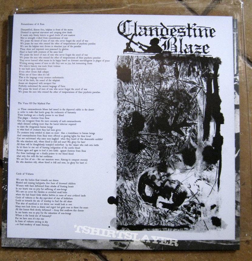 CLANDESTINE BLAZE – City Of Slaughter (Black Vinyl)