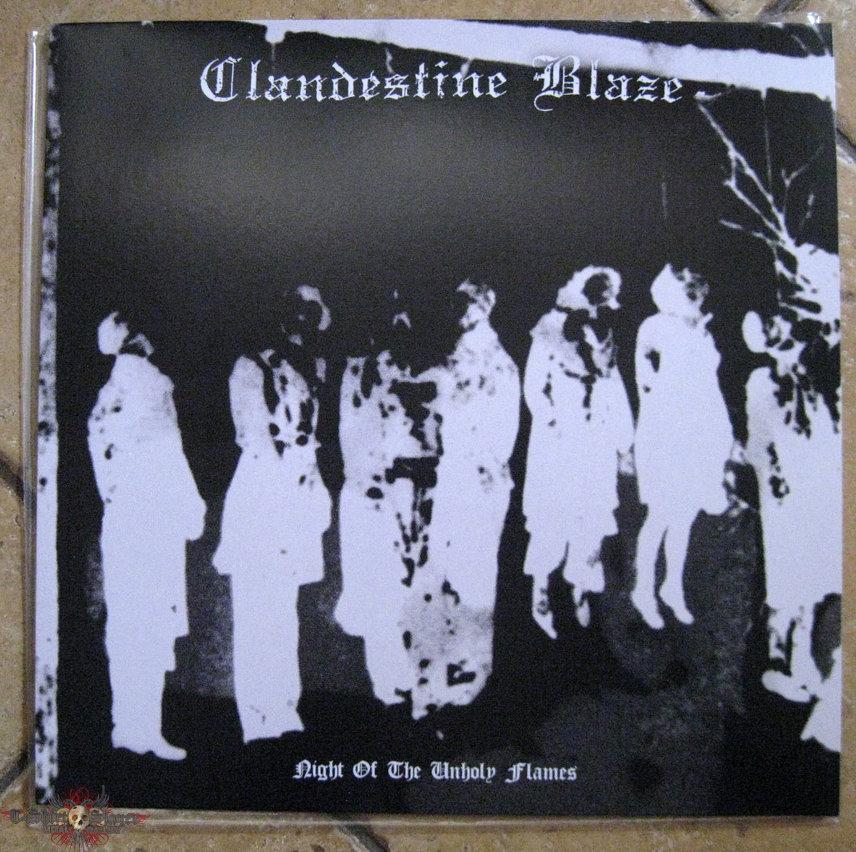 CLANDESTINE BLAZE – Night Of The Unholy Flames (Black Vinyl)