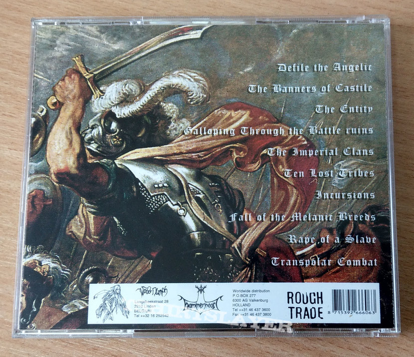 Arghoslent ‎– Galloping Through The Battle Ruins (1st press CD)