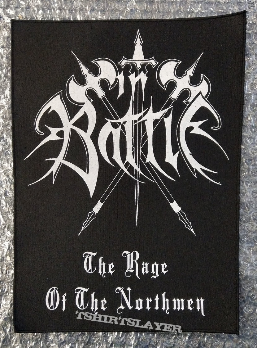IN BATTLE - Logo (Backpatch)