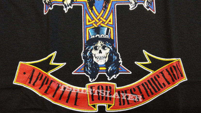 GUNS N' ROSES - Appetite For Destruction (T-Shirt)