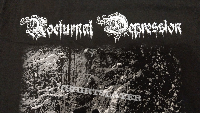 NOCTURNAL DEPRESSION - Four Seasons To A Depression (T-Shirt)