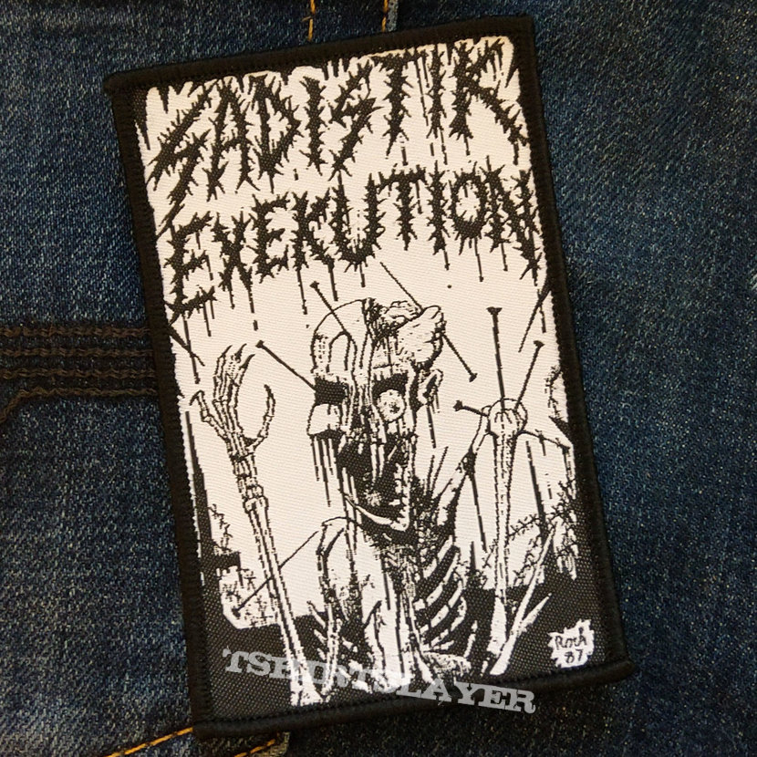 SADISTIK EXEKUTION - 1987 Demo 68x107 mm (woven)