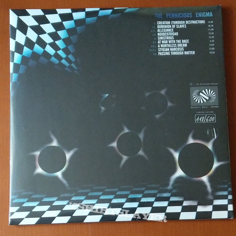 Esoteric – The Pernicious Enigma (Triple Vinyl)
