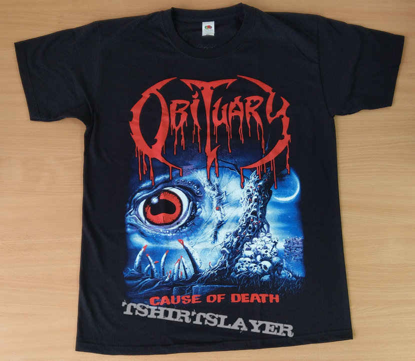 OBITUARY - Cause Of Death (T-Shirt)