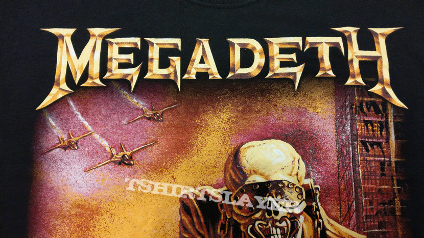 MEGADETH - Peace Sells... But Who's Buying? (T-Shirt)